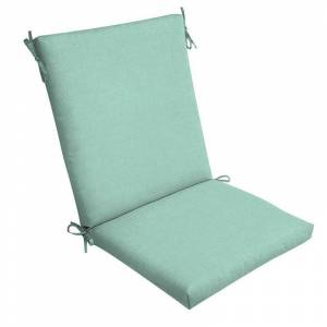 Arden Selections Texture Outdoor Chair Cushion, Blue, 44X20