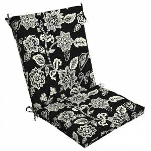 Arden Selections Outdoor Chair Cushion, Black, 44X20