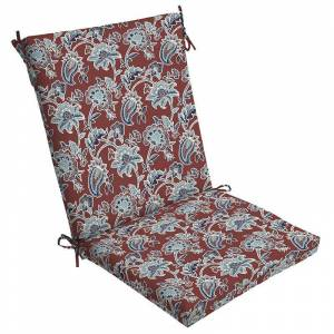 Arden Selections Outdoor Chair Cushion, Red, 44X20