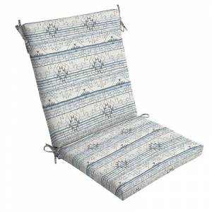 Arden Selections Outdoor Chair Cushion, Grey, 44X20