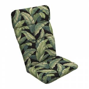 Arden Selections Outdoor Adirondack Chair Cushion, Black