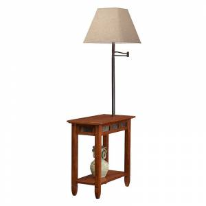 Leick Furniture Vintage Lamp & End Table, Clrs