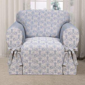 Kathy Ireland Desert Skies Chair Slipcover, Med Blue, CHARSLPCVR