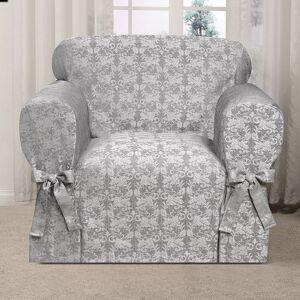 Kathy Ireland Desert Skies Chair Slipcover, Med Grey, CHARSLPCVR
