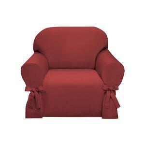 Madison Lucerne Slipcover Chair, Orange, Armchair