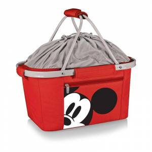 Disney s Mickey Mouse Collapsible Cooler Tote by Picnic Time, Red