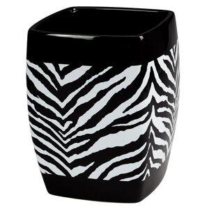 Creative Labs Bath Zebra Wastebasket, WASTEBK-CR