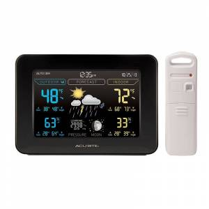 AcuRite Weather Station with Forecasting, Black