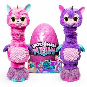 Wow Toys Hatchimals WOW 32-Inch Llalacorn Animal Toy