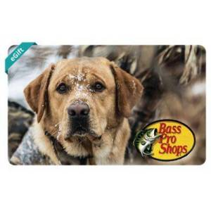 Bass Pro Shops Hunting Dog eGift Card - $100