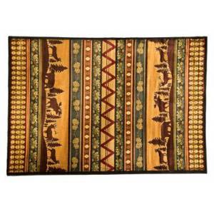 Lodge Themed Area Rugs Pine Valley - Oversize - 7'10'' x 10'6''