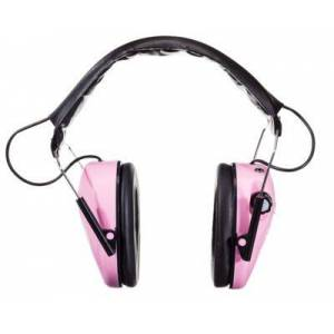 Caldwell E-MAX Low Profile Hearing Protection Muffs - Pink
