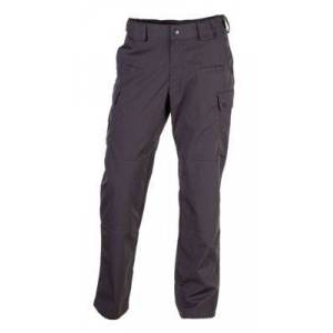 5.11 Tactical Stryke Pants with Flex-Tac for Men - Charcoal - 28x36
