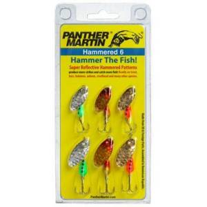 Panther Martin Hammered Spinner 6-Pack Kit