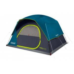 Coleman Dark Room Skydome 6-Person Camping Tent