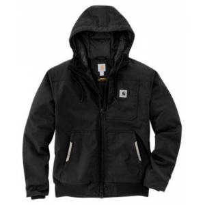 Carhartt Yukon Extremes Insulated Active Jac for Men - Black - 2XLT