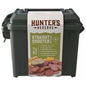 Hunter's Reserve Ammo Can Exotic Meat and Cheese Gift Box