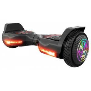SWAGTRON T580 TWIST Hoverboard for Kids with Light-Up LED Wheels - Black