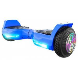 SWAGTRON T580 TWIST Hoverboard for Kids with Light-Up LED Wheels - Blue