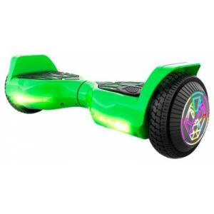 SWAGTRON T580 TWIST Hoverboard for Kids with Light-Up LED Wheels - Green