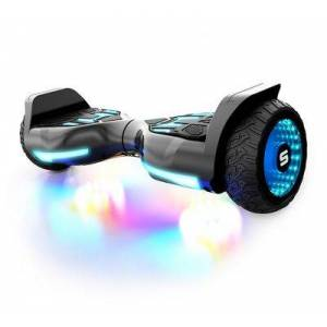 SWAGTRON T580 Warrior Bluetooth Hoverboard for Kids - Black