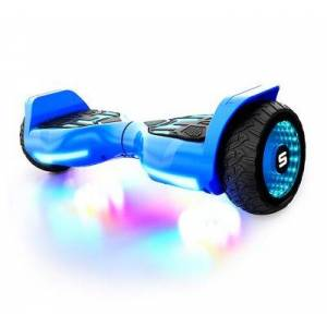 SWAGTRON T580 Warrior Bluetooth Hoverboard for Kids - Blue