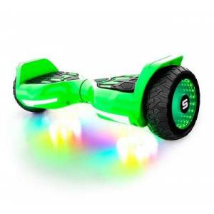 SWAGTRON T580 Warrior Bluetooth Hoverboard for Kids - Green