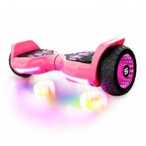 SWAGTRON T580 Warrior Bluetooth Hoverboard for Kids - Pink