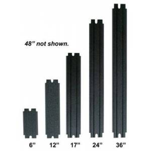 """Bert's Custom Tackle Step Pad Inserts for Track Systems - Black - 48"""""""