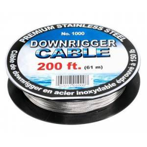 Scotty Premium Stainless Steel Downrigger Cable - Cable Only - 200'