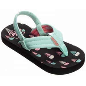 Reef Little Ahi Ice Cream Sandals for Toddlers or Kids - Ice Cream - 3 Toddler