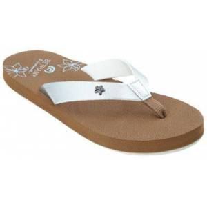 Cobian Lil Hanalei 2 Thong Sandals for Toddlers or Kids - Silver - 2 Kids