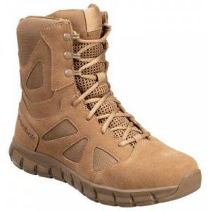 Reebok Sublite Cushion Tactical AR670-1 Duty Boots for Men - Coyote Brown - 9M