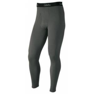 Cabela's E.C.W.C.S. Midweight Base Layer Pants for Men - Charcoal - M