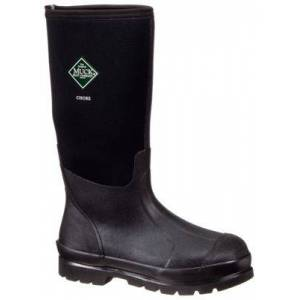 The Original Muck Boot Company Chore Boot Hi All-Conditions 16'' Waterproof Work Boots for Men - Black - 12M