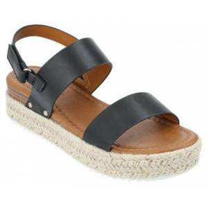 Natural Reflections Silvia Sandals for Ladies - Black - 6M
