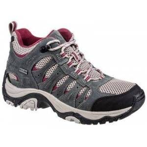Ascend Lisco Mid Waterproof Hiking Boots for Ladies - Gray - 10M