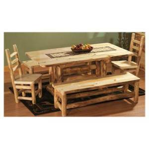 Mountain Woods Furniture 6-Piece Dining Set