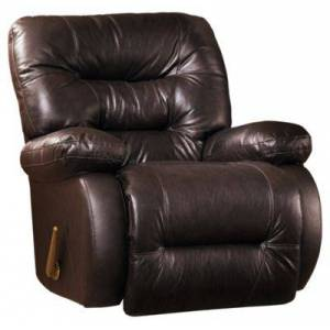 Best Home Furnishings Maddox Furniture Collection Leather Rocker Recliner - Chocolate