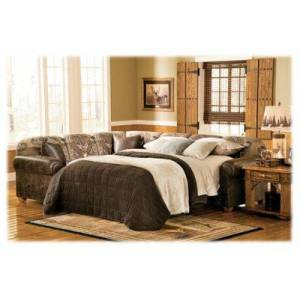Marshfield Whitetail Ridge Furniture Collection Sectional Sleeper Sofa