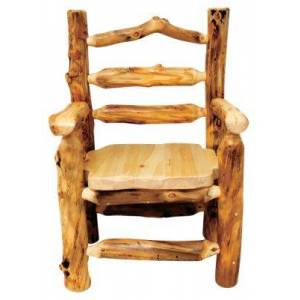 Mountain Woods Furniture Grizzly Furniture Collection Captain's Dining Chair