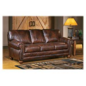 Best Home Furnishings Osmond Furniture Collection 3-Piece Living Room Set - Chestnut