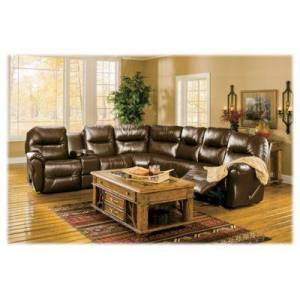 Best Home Furnishings Bodie Leather Sectional - Camel