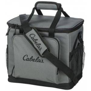 Cabela's 30 Can Soft-Sided Cooler - Gray