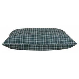 Carolina Pet Company Indoor/Outdoor Plaid Shebang Dog Bed - Green Plaid - Small