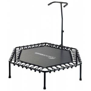 """Upper Bounce Hexagonal Fitness Mini-Trampoline with Bungee Cord Suspension\u000a - 50"""""""