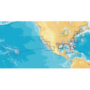 Platinum Navionics Platinum+ Multi-Dimensional Electronic Marine Charts on SD for Chartplotters - West Fulf of Mexico