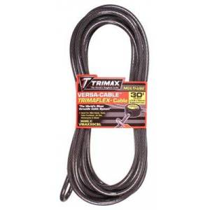 Trimax Versa-Cable Trimaflex Braided Steel Cable - 30'