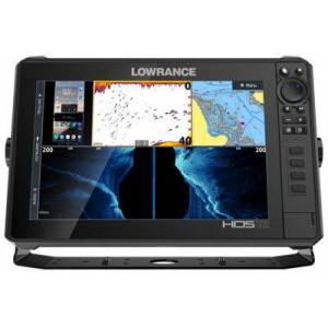 Lowrance HDS LIVE 12 Fish Finder/Chartplotter - HDS-12 Live Amer XD AI 3-in-1