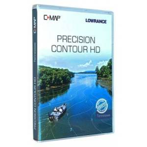 Contour Lowrance C-MAP Precision Contour HD Maps - Tennessee